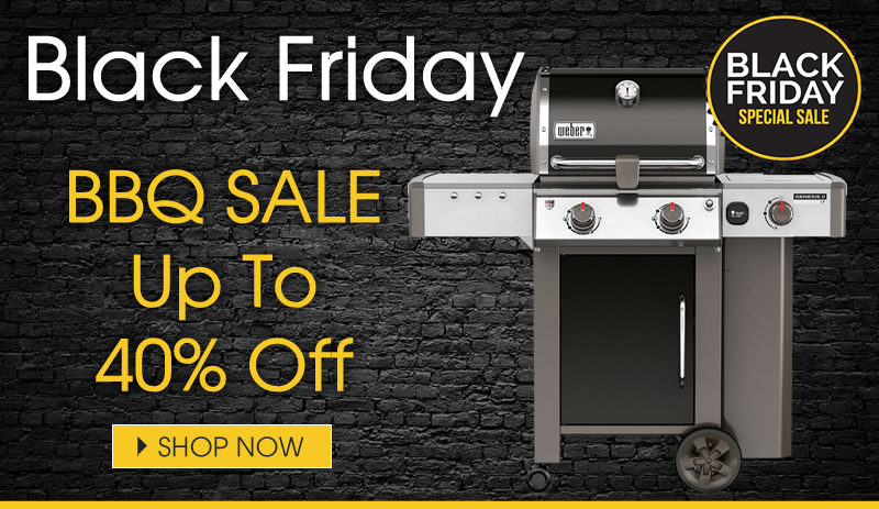 Black Friday BBQ Sale