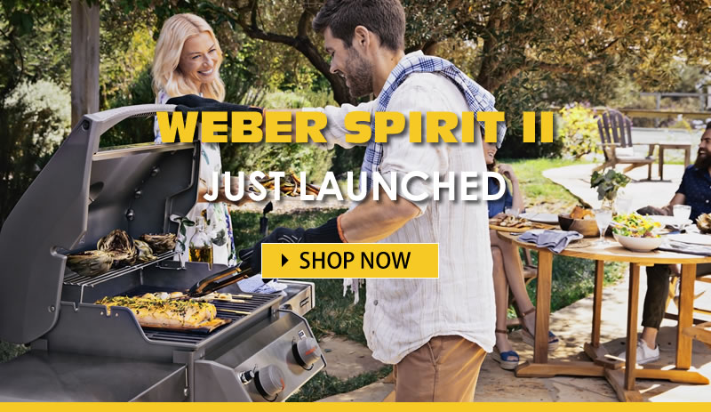 New Weber Spirit II Barbecues