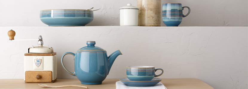 Denby   Denby Azure and Azure Coast