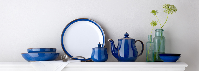 Denby Denby Imperial Blue & Denby Imperial Blue Tableware: See Our Collection Today