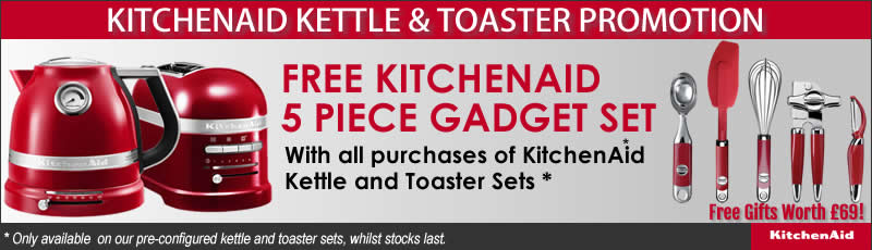 KitchenAid   KitchenAid Kettle and Toaster Sets