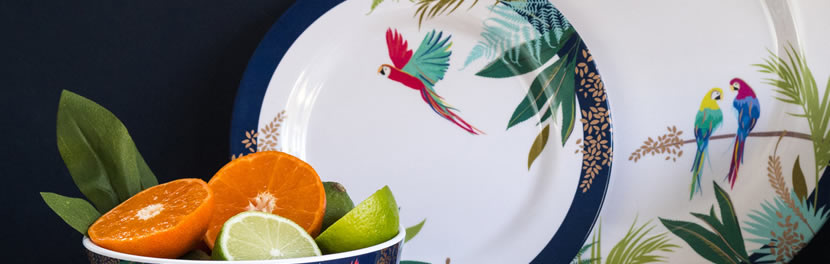 Portmeirion   Sara Miller Parrot Collection