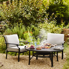 cast aluminium garden furniture sets