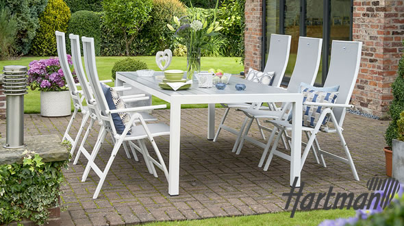 hartman aluminium garden furniture