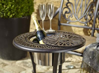 hartman amalfi garden furniture ice bucket