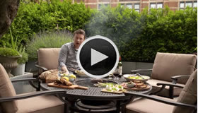 jamie oliver garden furniture video