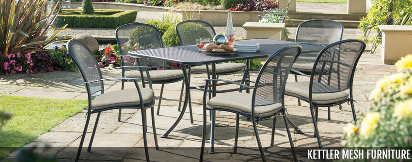Kettler Mesh Metal Garden Furniture