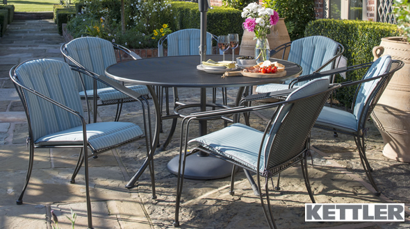 Captivating Kettler Metal Garden Furniture