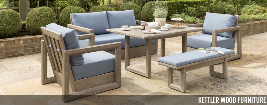 Kettler Wood Garden Furniture