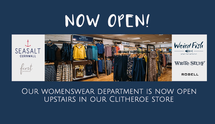 Womenswear Department in Clitheroe Store
