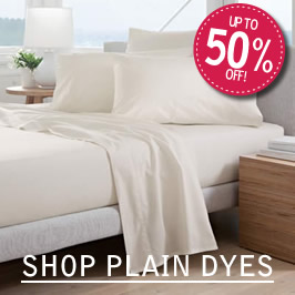 plain dye bedding sheets